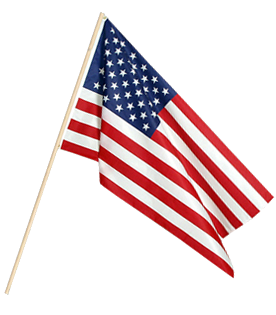 12'' x 18'' 100% Cotton American Lawn Flags for Real Estate Promotion | RealEstateCalendars.com