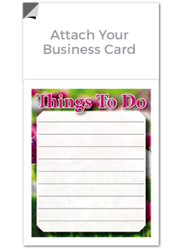 Magnetic Notepads for business cards and real estate agents